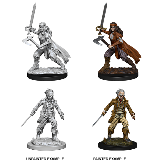 Bandits Roleplaying Game Unpainted Miniatures